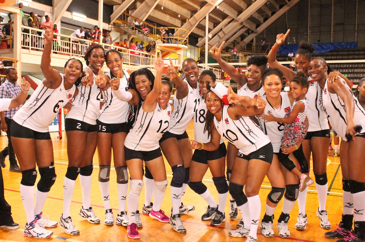 "Caribbean Volleyball Champions 2014 ""Trinidad and Tobago Women"""