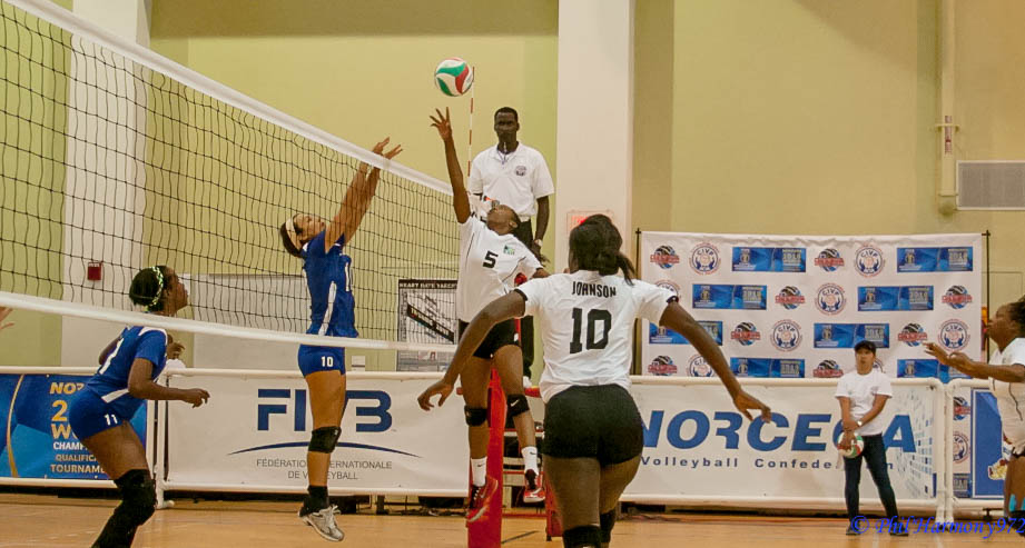 Setter #5 Sary Albury In One Hand Setting For Bahamas